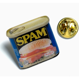 SPAM Lapel pin