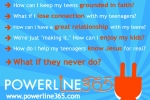 Powerline365 logo with questions