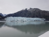 glacier from the ship