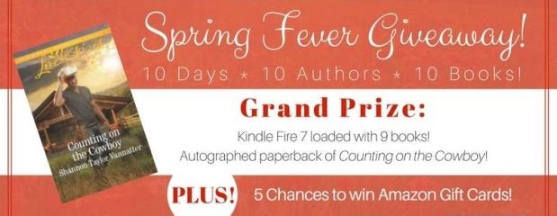 Spring Fever Promo – Final Day! Meet Shannon Taylor Vannatter