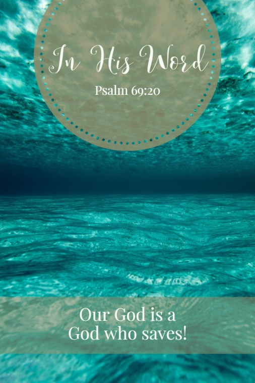 Our God is a God who saves!